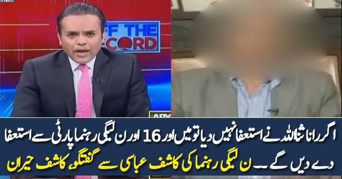 16 lawmakers will quit if Rana Sanaullah doesn't resign: PML-N's Sialvi
