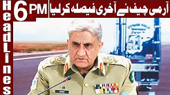 Army working within constitutional limits - COAS - Headlines 6 PM - 19 December