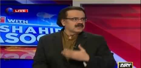Dr Shahid Masood reveals history of ex-Judge who is heading Cyril's issue