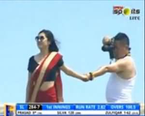 Funny Photoshot During Pakistan vs Sri Lanka 3rd Day Of 1st Test - Must Watch