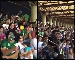 Go Nawaz Go During Pak Vs Zimbabve In Qazafi Stadium Lahore