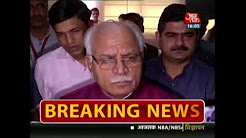 Haryana Minister Surrounded By Parents Outside Ryan International School