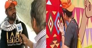 How 'I Am Karachi' Team Making Karachi Beautiful By Painting The Walls Of Karachi – Must Watch