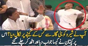 Imran Khan Funny Reply On His Dog Shero