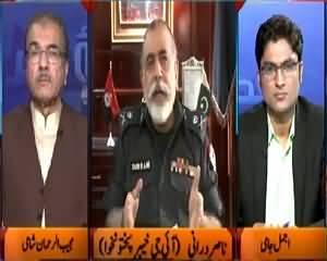 KPK IG Nasir Durrani Shares the Reason Behind Arrest Of Mian Iftikhar