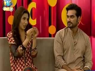 Mahira Shared The Funny Thing About Humayun Saeed On Bin Roye Set