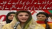 Maryam Nawaz Abusive Talking Againt Supreme Court - Real Politics