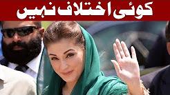 Maryam Nawaz I Have No Differences with Hamza Shahbaz