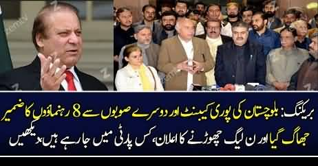 Mubashir Luqman Reveals The Names Who are Leaving PMLN