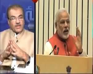 Mujeeb Ur Rehman Shami Warns Indian Pm Modi On Economic Coridor