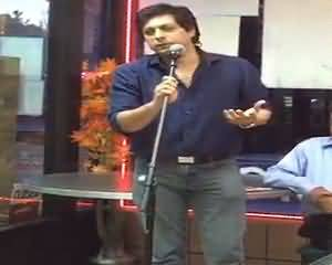 New York: Singer Jawad Ahmad Talks About Politics and Ecomony of Pakistan