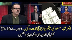 Pakistan News Live Today 2017- Live With Dr Shahid Masood Latest Update