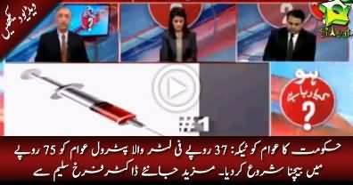 PML-N Govt Petroleum Products Corruption: Rs. 37/Liter petrol reaches to public for Rs. 75/Liter