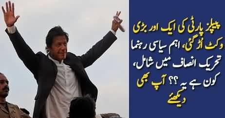 PTI Ne PPP Ki Ek Aur Wicket Ura Di
