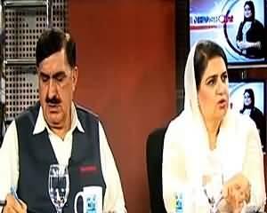 Qadri Sahab Sirf Garmion Ki Chutiyan Guzarne Pakistan a Te hein Phir Dharna Drama Rachate Hein Senator Rubina Khalid
