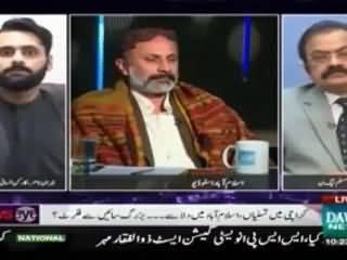Rana Sanaullah and Mohammad Jibran Nasir FACE OFF in a Show - Rana Saab Ko Hila Dia