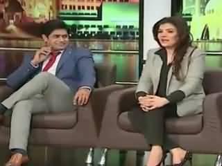 Resham Mimics Meera, Proposes Imran Khan in Mazzaq Raat