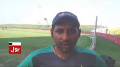 Sarfaraz Ahmed greetings to BOL news on 1st anniversary