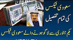 Saudi Arabia VAT Tax Hindi Urdu 2018 Latest News Saudi Arabia VAT Tax Latest