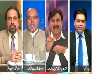 Severe Fight Between Jan Achakzai (JUIF) & Shaukat Yousafzai (PTI)