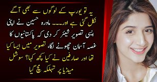 Social Media Gone Mad On Mawra Hocane Picture