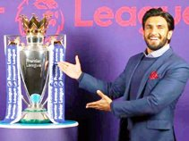 The English Premier League appointed actor Ranveer Singh as brand ambassador