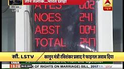 Voting over Triple Talaq Bill in Lok Sabha