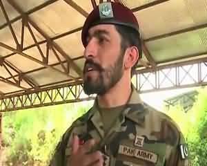 Watch The Spirit Of SSG Zarrar Commander On Deffence Day