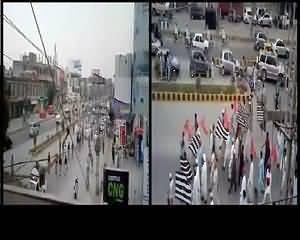 Watch Yesterday Rally Of JUI,ANP &PMLN In Peshawar During Strike