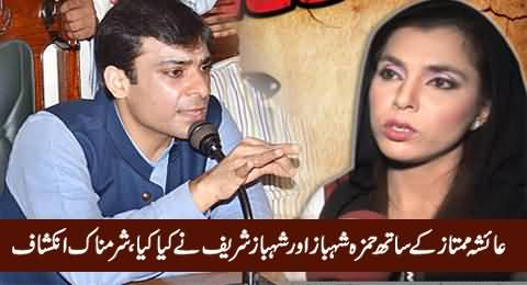 What Happened with Ayesha Mumtaz When She Went To Raid Hamza Shahbaz's Factory